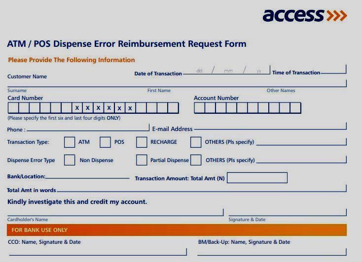 How to Resolve Access Bank Dispense Error