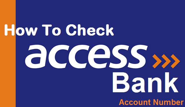 How To Check Access Bank Account Number