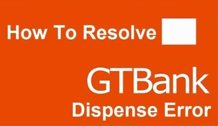 GTB Dispense Error