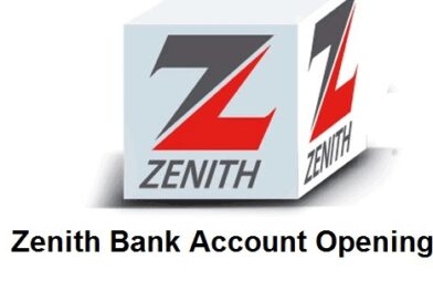Zenith Bank Account opening