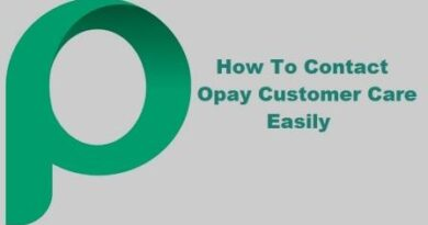 How To Contact Opay Customer Care